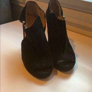 Nine West open toe booties